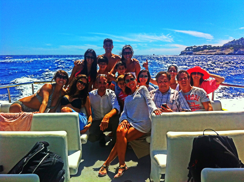 A wonderful family boat trip in Cassis