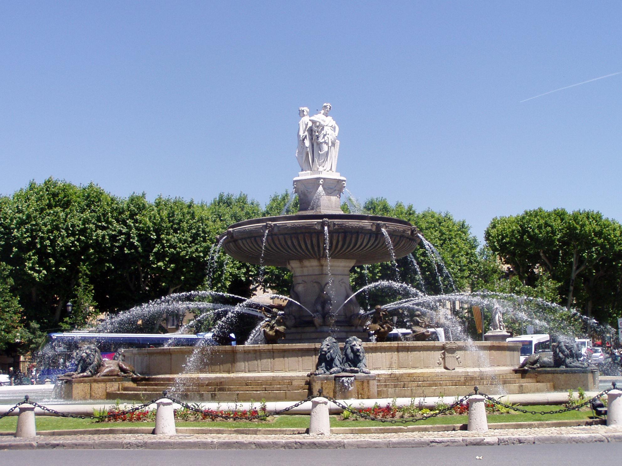 La Rotonde, Aix-en-Provence day tour