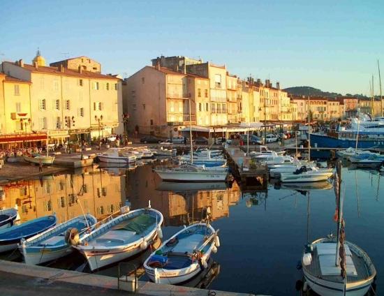 Wonderful Saint-Tropez village