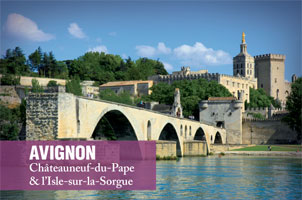 Avignon and Chateauneuf du Pape