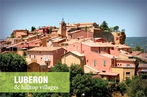 Luberon and hilltop villages